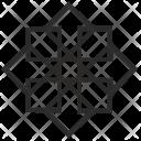 Modern Complex Lines Icon