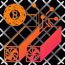 Modern Computer Network Icon