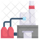 Modern Factory Icon