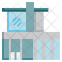 Modern House Holiday Home Holidays Icon