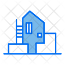 Modern House Home Building Icon