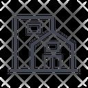 Modern House Home House Icon
