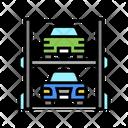 Modern Parking Modern Multilevel Icon