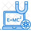 Modern Physics Science Quantum Mechanics Icon