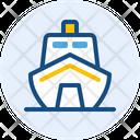 Modern Ship Ship Yacht Icon