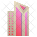 Modern Triangle Building Icon