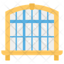 Modern Window Up To Date Exit Wall Frame Icon
