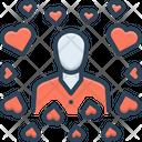 Modest Hackneyed Common Icon