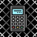 Modile Pos Terminal Modile Gadget Icon