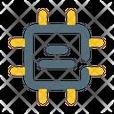 Module Processor Electro Icon