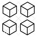 Modules Modular Cubes Modelling Icon