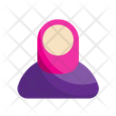 Moeslim Woman Muslim Hijab Icon