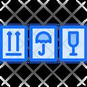 Moisture Sign Fragile Icon