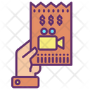 Moive Ticket Film Ticket Picture Ticket Icon