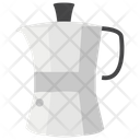 Moka Coffee Pot Icon