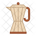 Moka Pot Coffee Icon
