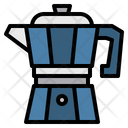 Moka Pot Kitchenware Coffee Maker Icon