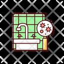 Mold Air Pollution Icon