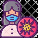 Mold Allergy Icon