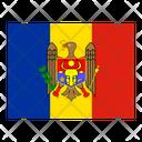 Moldova Flag Flags Icon