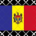 Flag Country Moldova Icon