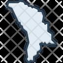 Moldova Country Nation Icon