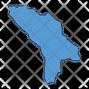 Moldova Map Icon