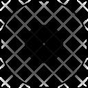 Mole Target Atom Icon