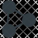 Molecular Configuration Structure Icon