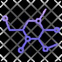 Molecular Scientific Science Icon