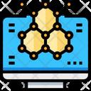 Molecular Atom Molecule Icon
