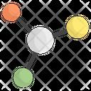 Molecular Atom Science Icon