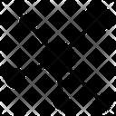 Molecular Network Cell Bonding Molecular Technology Icon