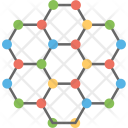 Molecular Network Cell Icon
