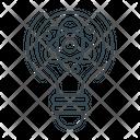 Molecular Physics Atomic Structure Atomic Bond Icon