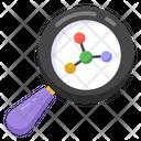 Structure Analysis Molecular Search Molecular Structure Icon