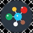 Organic Molecule Chemical Bond Molecular Structure Icon