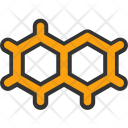 Molecule Hexagons Science Icon