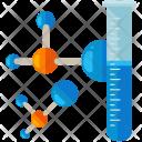 Molecule Test Tube Experiment Icon