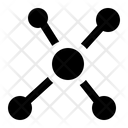 Molecule Atom Structure Icon