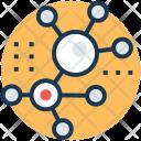 Molecule Schemes Chemical Icon