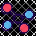 Molecule Chemical Bonding Molecular Structure Icon