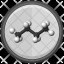 Molecule Butane Model Icon