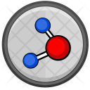 Molecule Model Ho Icon