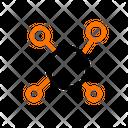 Molecule Science Atom Icon