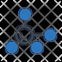 Molecule Cell Bonding Icon