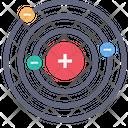Molecule Orbit Radar Icon