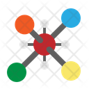 Molecule Structure Chemical Icon