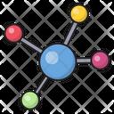 Molecule Cells Structure Icon