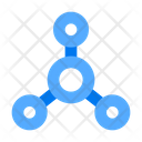 Molecule Atom Elements Icon
